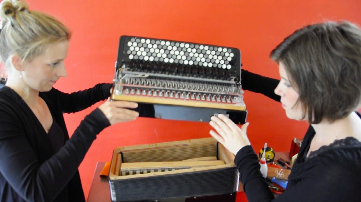 Crowdfunding for new accordions